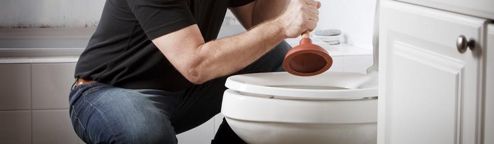 Ontstoppen toilet